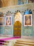 Altare della cattedrale di Svetitskhoveli Mtskheta, Georgia Fotografia Stock Libera da Diritti