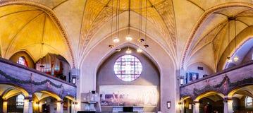 Altare della cattedrale di Tampere Fotografia Stock Libera da Diritti