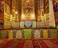 Altare della cattedrale di Vank Fotografie Stock