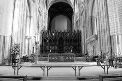 Altare della cattedrale di Winchester Immagini Stock