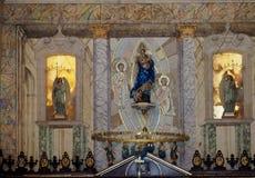 Altare della cattedrale in Havana Cuba Immagini Stock Libere da Diritti