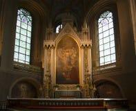 Altare della cattedrale luterana a Turku Fotografia Stock