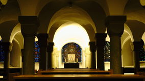 Altare della cattedrale in Soest Fotografia Stock
