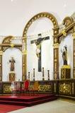 Altare della chiesa Fotografia Stock Libera da Diritti