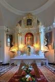 Altare della chiesa Immagine Stock Libera da Diritti