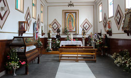 Altare della chiesa Fotografie Stock Libere da Diritti