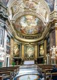 Altare della chiesa cattolica chiamata Fotografia Stock Libera da Diritti