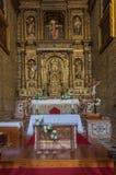 Altare della chiesa dell'istituto universitario della st John Evangelist Immagine Stock Libera da Diritti