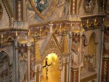 Altare della chiesa della st Matthias a Budapest Ungheria Immagine Stock Libera da Diritti