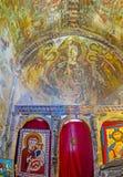 Altare della chiesa di Lamaria Immagini Stock Libere da Diritti