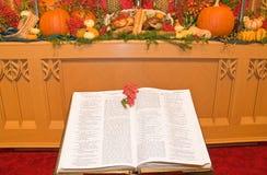 Altare della chiesa di ringraziamento Immagini Stock Libere da Diritti