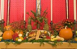 Altare della chiesa di ringraziamento Immagine Stock