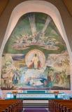 Altare della chiesa di Rovaniemi, Lapponia finlandese, Finlandia Fotografia Stock Libera da Diritti