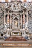 Altare della chiesa di Santa Caterina a Palermo Fotografie Stock