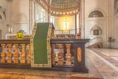 Altare della chiesa di Santa Maria Fotografie Stock Libere da Diritti