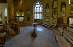 Altare della chiesa di trinità santa Fotografia Stock Libera da Diritti
