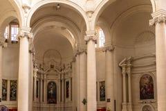 Altare della chiesa di Xewkija Immagini Stock Libere da Diritti