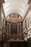 Altare della conduttura della cattedrale di Elvas Immagini Stock Libere da Diritti
