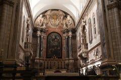 Altare della conduttura della cattedrale di Elvas Fotografia Stock