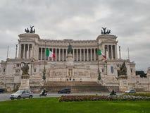 Altare della costruzione di patria a Roma, Italia Fotografia Stock