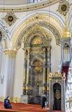 Altare della moschea di Aziziye in Konya, Turchia Immagini Stock