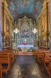 Altare della nostra signora della chiesa della montagna Immagine Stock Libera da Diritti