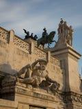 Altare della patria Fotografia Stock Libera da Diritti