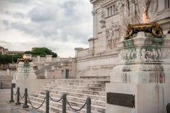 Altare della patria Fotografie Stock