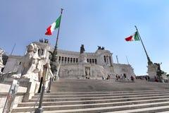Altare Della Patria alla piazza Venezia Immagine Stock Libera da Diritti