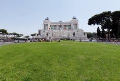 Altare Della Patria alla piazza Venezia Fotografie Stock Libere da Diritti