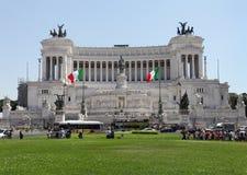 Altare Della Patria alla piazza Venezia, Roma Immagini Stock
