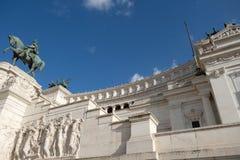 Altare della patria alla piazza Venezia, Roma, Italia Fotografia Stock