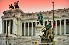 The Altare della Patria (The Altar of the Fatherland) Royalty Free Stock Photo