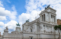 Altare della Patria Altar of the Fatherland - Rome, Italy Royalty Free Stock Photos