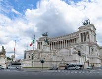 Altare della Patria Altar of the Fatherland - Rome, Italy Stock Photo