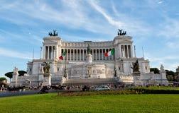 Altare della patria (della Patria di Altare) conosciuta come il Monumento Nazionale Vittorio Emanuele II Immagine Stock