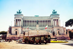 Altare della patria (della Patria di Altare) a Roma Immagine Stock