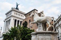 Altare della Patria, detail Rome, Italy Stock Photography