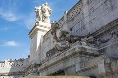 Altare della patria, della Patria di Altare, alla piazza Venezia a Roma, l'Italia Immagine Stock