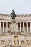 Altare-della Patria führt Rom Italien einzeln auf Lizenzfreie Stockbilder