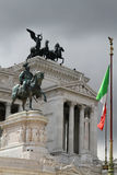 The Altare della Patria or Il Vittoriano Royalty Free Stock Photos