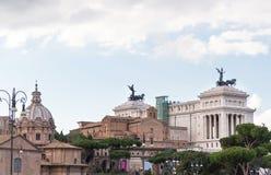 Altare della patria il vittoriano in Rome Stock Images