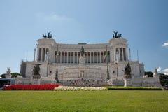 Altare della Patria, jeden wielki krajowy zabytek w Ita Obraz Stock