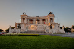 The Altare della Patria Royalty Free Stock Image