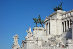 Altare della Patria (meaning Altar of the Fatherland) in Rome. Altare della Patria (meaning Altar of the Fatherland) aka Vittoriano or Monumento Nazionale a Stock Photo