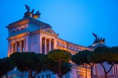 Altare Della Patria, monumento a Vittorio Emanuele II, Roma, AIS Immagini Stock Libere da Diritti