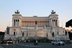 Altare-della Patria oder Monumento Nazionale Vittorio Emanuele II, Rom, Italien Stockfoto