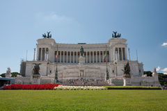 Altare della Patria, one of the largest national monument in Ita Stock Image