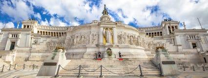 Altare-della Patria-Panorama Lizenzfreies Stockbild