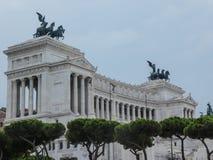 Altare della patria, piazza Venezia, Roma, Italia immagini stock libere da diritti